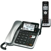 Att Cl84102 Corded/Cordless Phone System With Answer, Caller Id/Call Waiting