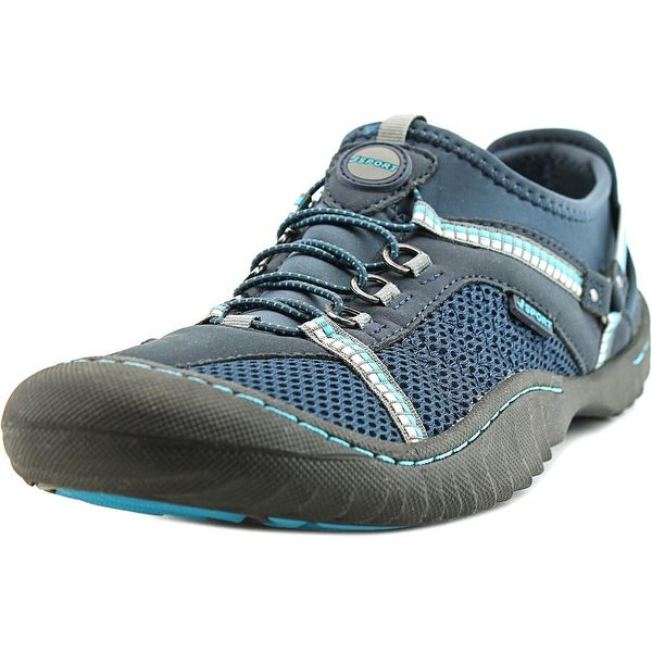 JSport by Jambu Compass-F6 Women Round Toe Synthetic Blue Trail Running