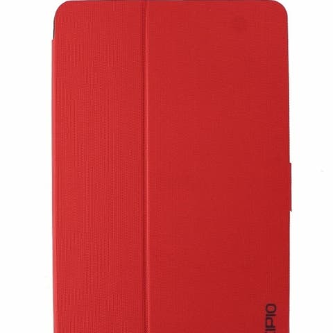 Incipio Clarion Series Protective Folio Case Cover for Samsung Tab E 9.6 - Red