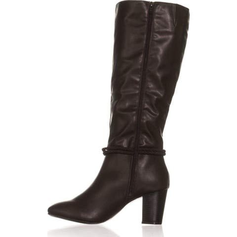 390bc4a05333 Karen Scott Womens Galee Almond Toe Knee High Fashion Boots
