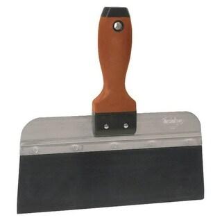 "Marshalltown 14338 Blue Steel Taping Knife, 10"", DuraSoft Handle"
