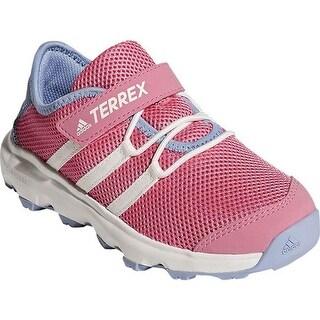 adidas Children's Terrex Climacool Voyager Cloudfoam Hiking Shoe Aero Pink/Chalk White/Chalk Purple