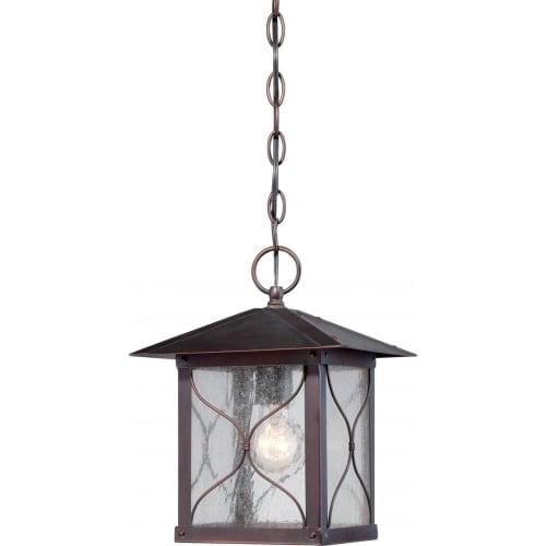 Nuvo Lighting 60/5614 Vega 1 Light Outdoor Small Lantern Pendant
