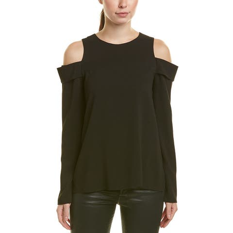 Tibi Savanna Silk-Lined Top