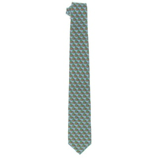 Tommy Bahama Mens Woody Christmas Neck Tie Silk Printed - o/s