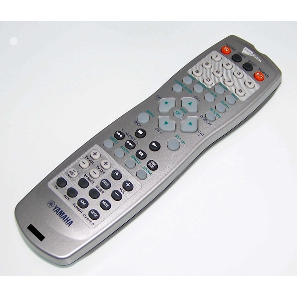 OEM Yamaha Remote Control Originally Shipped With: DVRC310, DVR-C310, DVRC310SL, DVR-C310SL, DVXC310, DVX-C310