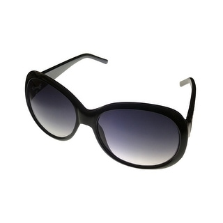Kenneth Cole Reaction Womens Sunglass Black Plastic, Gradient Lens KC1175 1B