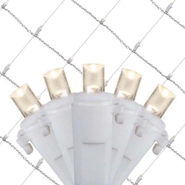 Wintergreen Lighting 21947 4' x 6' Warm White LED Net - 100 Lights - Warm White - N/A