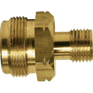 "Mr Heater F276130 Throwaway Cylinder Adapter with Shutoff, 9/16"" LHMT"