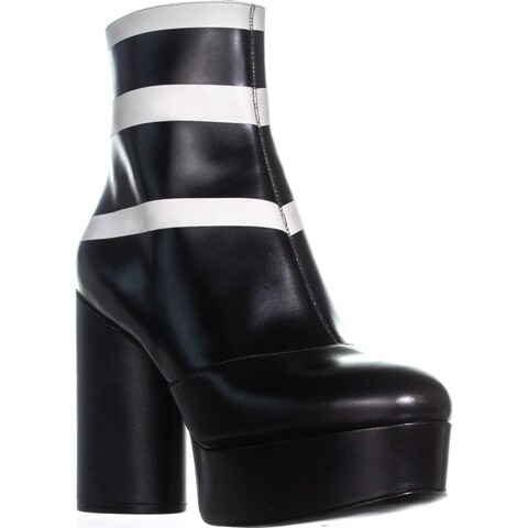 Marc Jacobs Amber Platform Ankle Boots, Black Multi