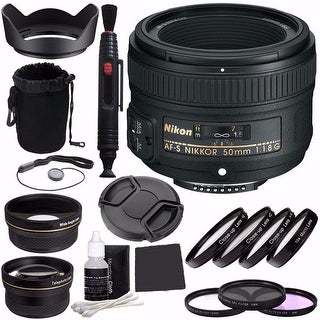 Nikon 50 1.8G AF-S Lens Bundle