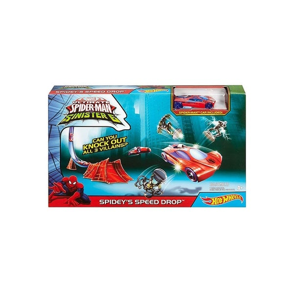 Hot Wheels Spiderman Track Set