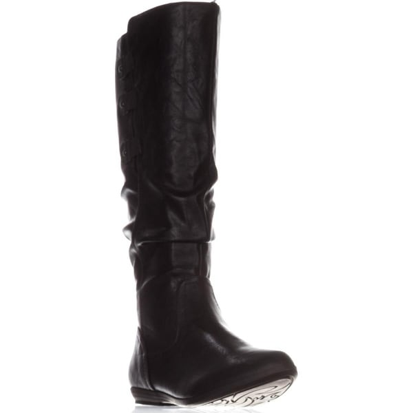 Cliffs White Mountain Felisa Flat Knee-High Boots, Black