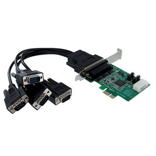 Startech.Com 4 Port Native Pci Express Rs232 Serial Adapter Card With 16950 Uart (Pex4s952)