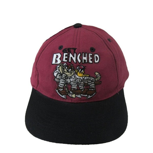 Shop Looney Tunes Little Boys Burgundy Get Benched Baseball Cap - Free  Shipping On Orders Over  45 - Overstock.com - 21130519 817169eb400
