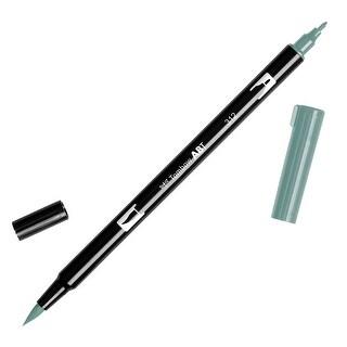 Tombow Dual Brush Pen Art Marker, 312 - Holly Green, 1-Pack