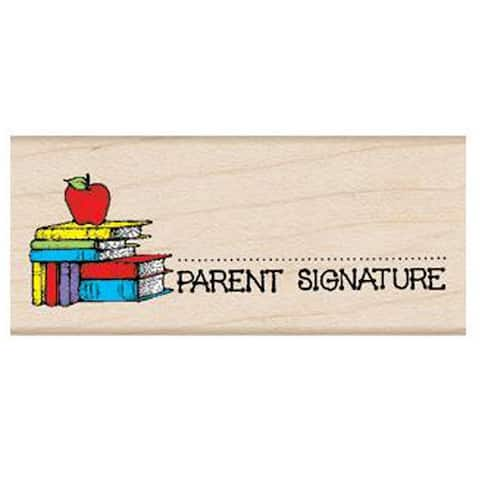 Parent Signature with Apple Stamp - One Size
