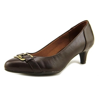 Life Stride Vintage Women  Pointed Toe Synthetic Brown Heels