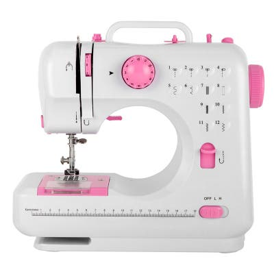 Portable Mini Multi-functional Electric Sewing Machine with 12 Built-In Stitches