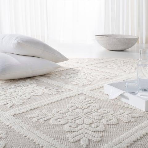 Lauren Ralph Lauren Wyatt Handmade Damask Wool Rug