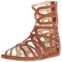 Kenneth Cole Reaction Womens triumph mid Open Toe Casual Gladiator Sandals - 6