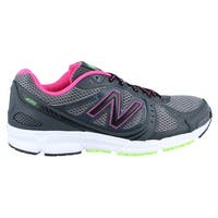 New Balance Womens WE495GP2 Fabric Low Top Lace Up Running Sneaker - 6.5