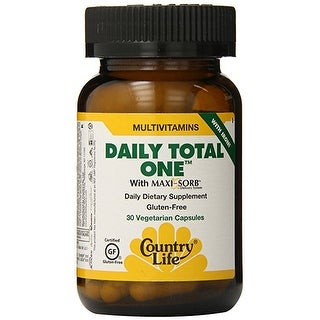 Country Life Vitamins Daily Total One 30 Vegicaps