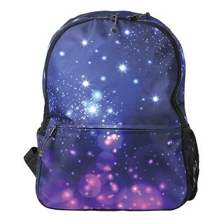 Children's Galaxy Design Led Light-Up Backpack - Electric Flashing Lights