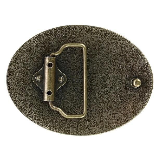 CTM Blank Oval Belt Buckle
