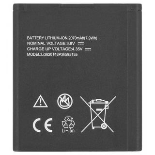 Replacement Battery for ZTE Li3820T43P3h585155 (Single Pack) Replacement Battery