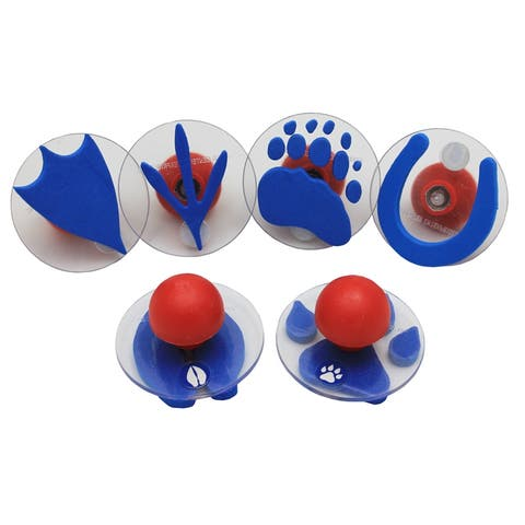 Ready2Learn Giant Stampers, Paw Prints, 6 Per Set, 2 Sets