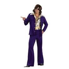 70's Purple Leisure Suit Adult Mens Costume - Standard