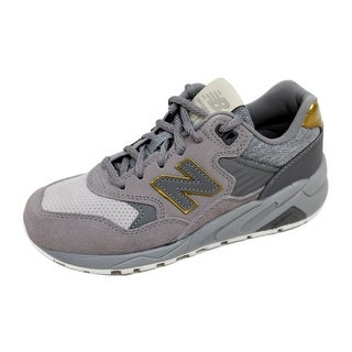 New Balance Women\u0027s WRT 580 Grey/Gold Molten Metal WRT580JB