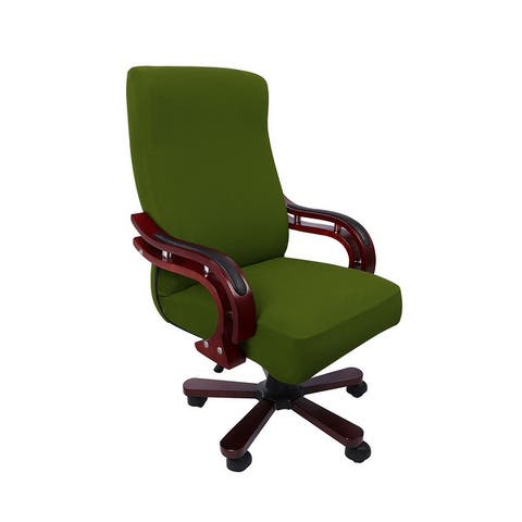 Stretch Waterproof Jacquard Office Chair Cover