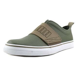 Puma EL Rey Fun Men Round Toe Leather Green Sneakers