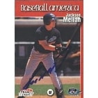 Jackson Melian Greensboro Bats  Yankees Affiliate 1999 Team Best Baseball America Autographed Card