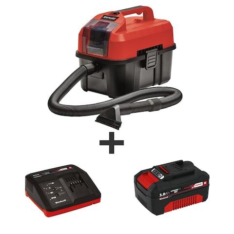 EINHELL TE-VC PXC 18V Cordless 2.7 Gallon Wet & Dry Vacuum, Tool Only