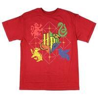 Harry Potter Hogwarts Animals Boys Youth T-shirt Licensed