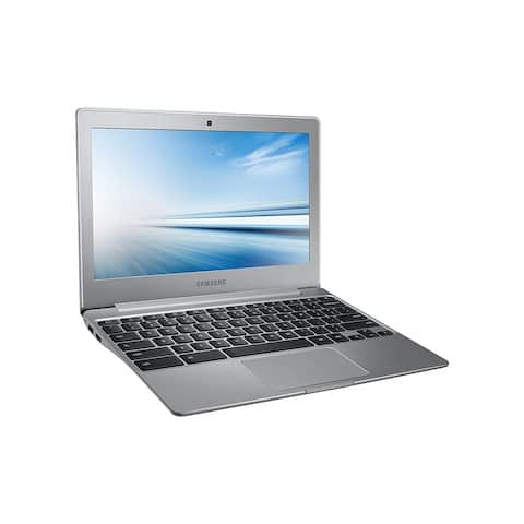 """Samsung XE500C12-K01US Intel Celeron N2840 X2 2.16GHz 2GB 16GB SSD 11.6"""",Silver(Refurbished)"""