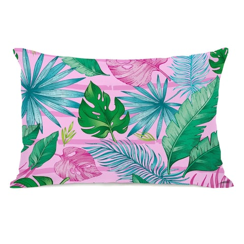Tropical Oasis - Lumbar Pillow
