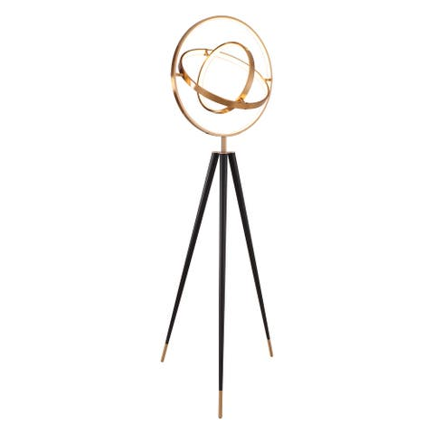 """Babet 76"""" LED Integrated, Color Temperature, Dimmer Tri-pod Floor Lamp"""