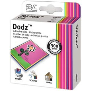 "Small .25"" 300/Pkg - Scrapbook Adhesive Dodz Adhesive Dot Roll"