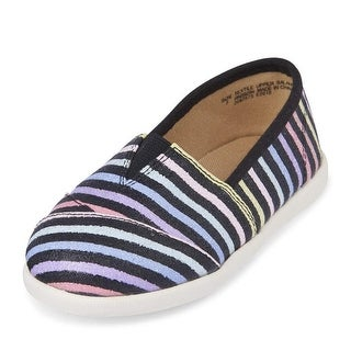 The Children's Place Kids' E Tg Stripe Cstl Slipper