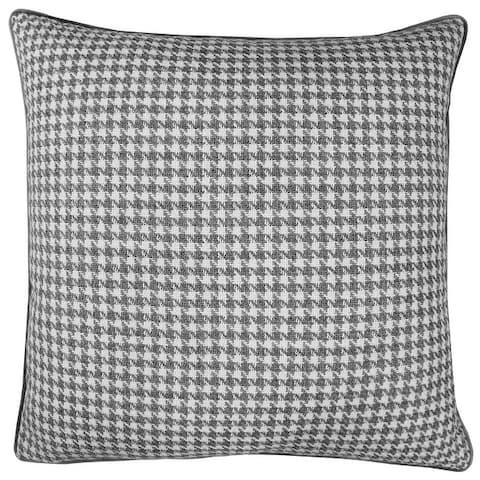 Rodeo Home Jonah Houndstooth Design Decorative Throw Pillow
