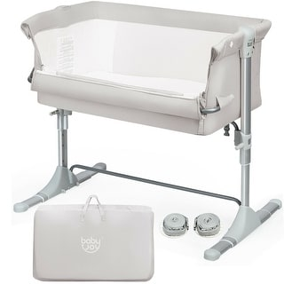 Link to Travel Portable Baby Bed Side Sleeper  Bassinet Crib with Carrying Bag Similar Items in Cribs