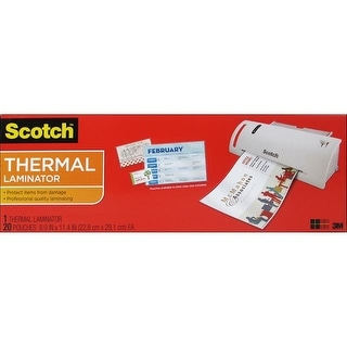 Scotch Quick Heat Thermal Laminator 9""