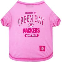 NFL Green Bay Packers Pink Tee Shirt