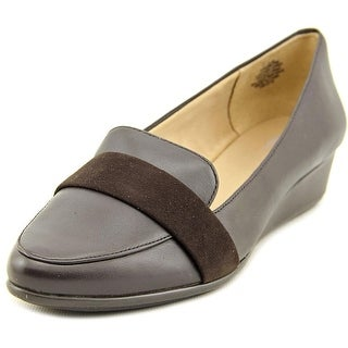 Easy Spirit Adalynn Women Pointed Toe Leather Brown Flats