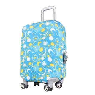 Traveling Luggage Elastic Polyester Dust Resistant Washable Cover 18-22 Inch