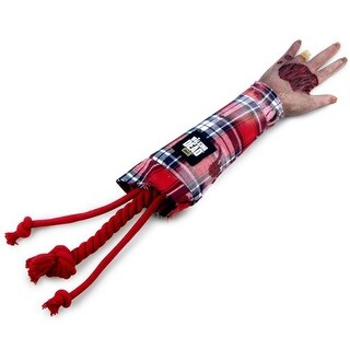 The Walking Dead Severed Walker Arm Dog Tug Toy - multi